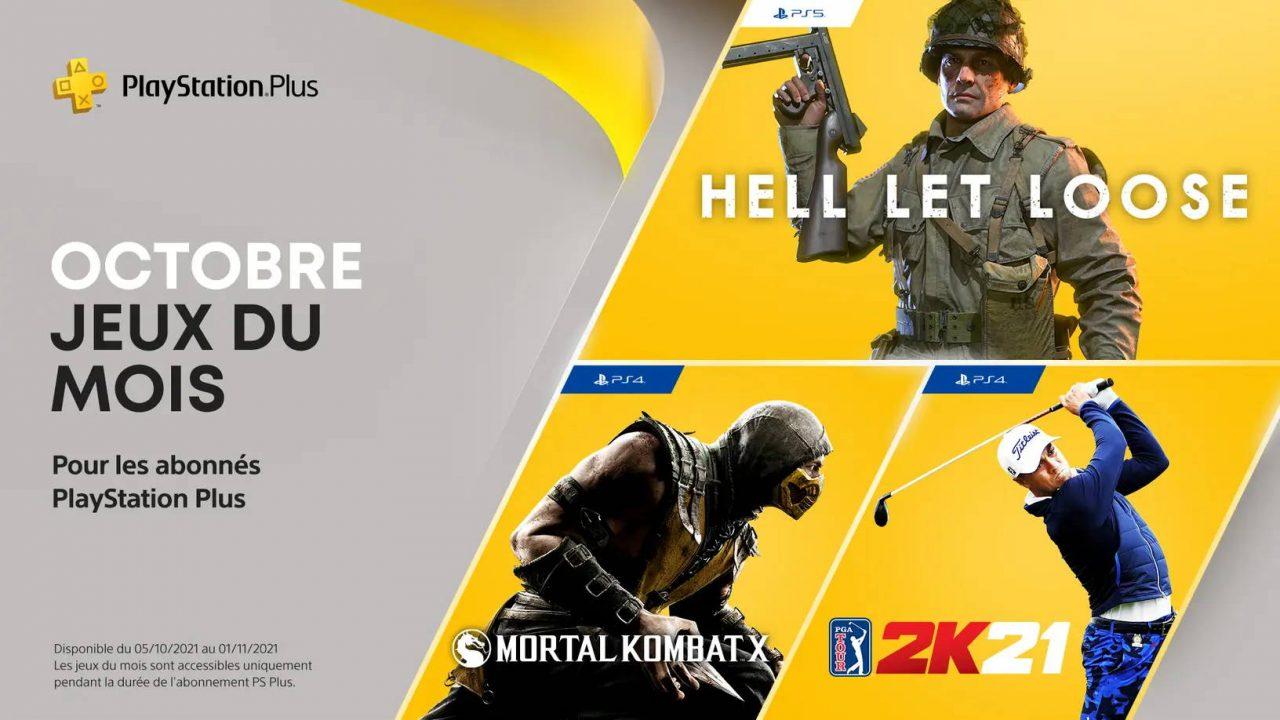 PlayStation Plus – Les jeux gratuits d'octobre 2021