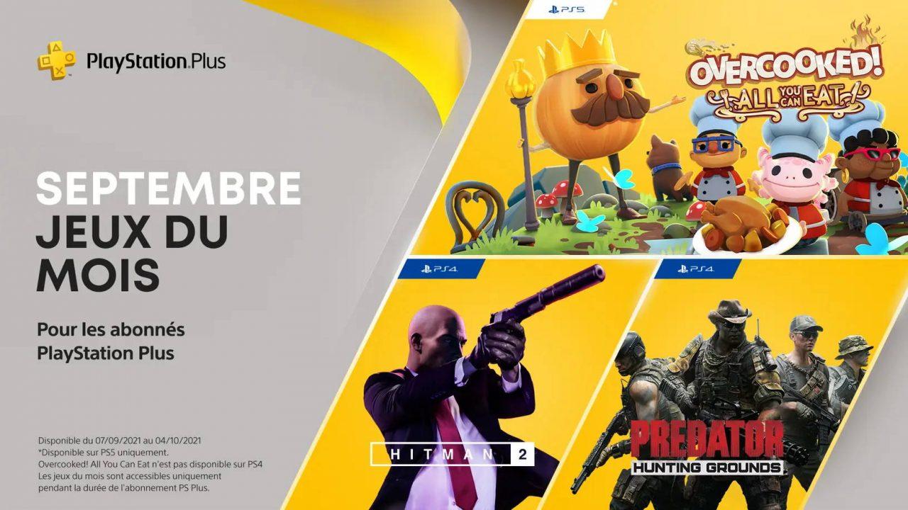 PlayStation Plus – Les jeux gratuits de septembre 2021