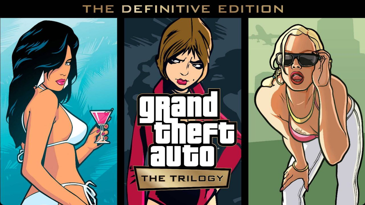Rockstar Games annonce Grand Theft Auto The Trilogy The Definitive Edition