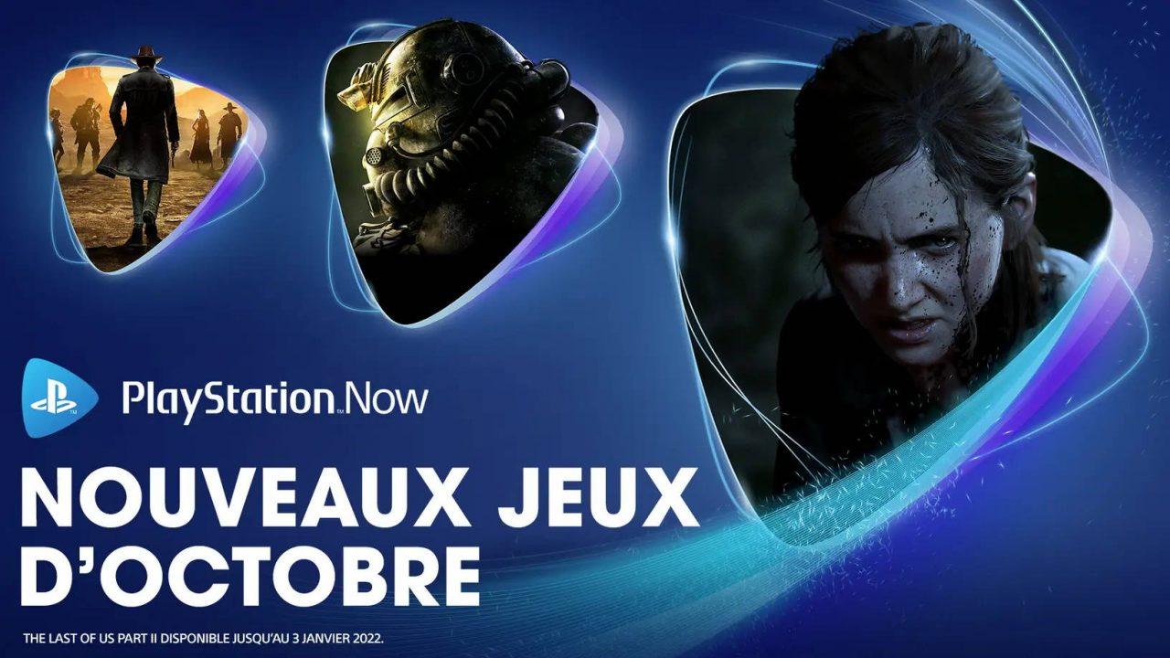 PlayStation Now – Les nouveaux arrivants d'octobre 2021