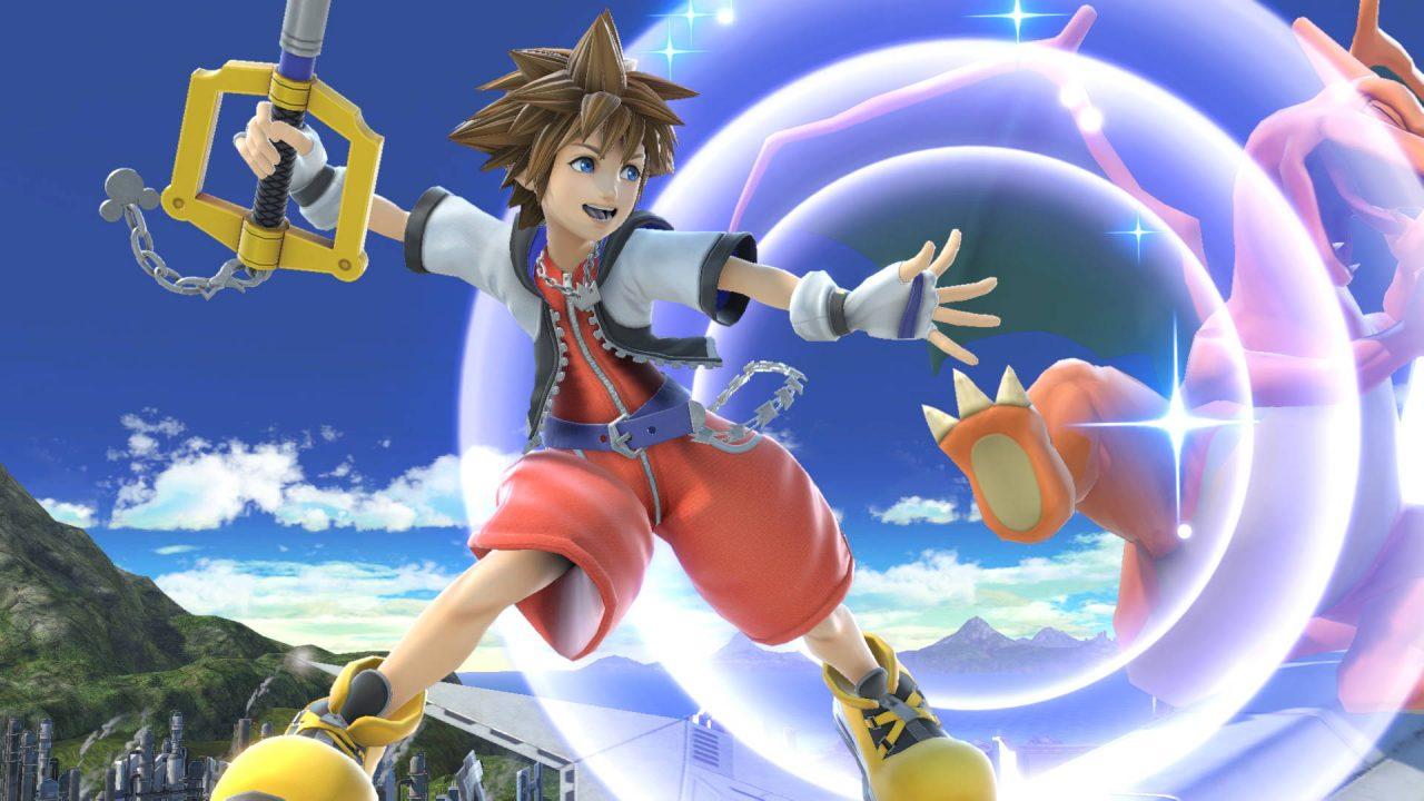 Sora de Kingdom Hearts arrive prochainement sur Super Smash Bros Ultimate